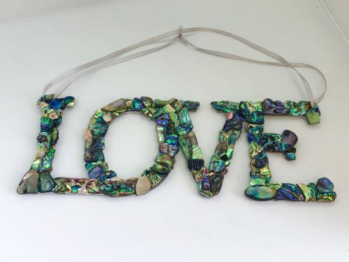 LOVE Hanging Mosaic